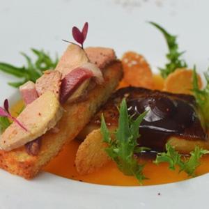 Cantaloupe Summer Foie Gras