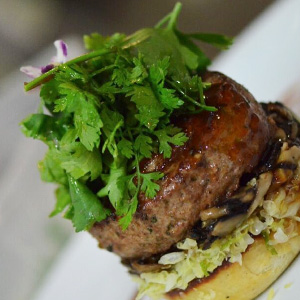 Revised Duck and Foie Gras Burger