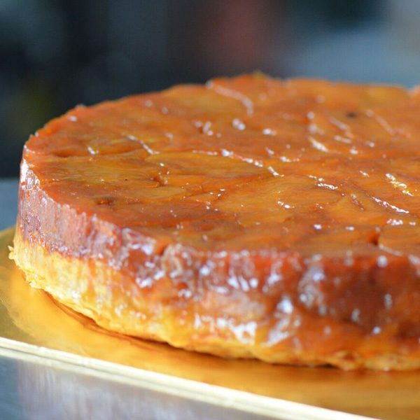 Roasted Apple Tatin Tart