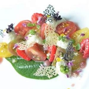 United Colors of Tomatoes Raspberry light Mozzarella Emulsion