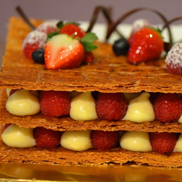 Red Fruit Mille Feuille