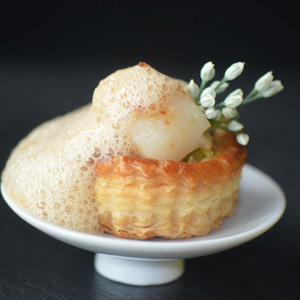 Scallop Laska Vol au Vent